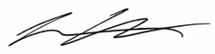Lawrence Chou's Signature