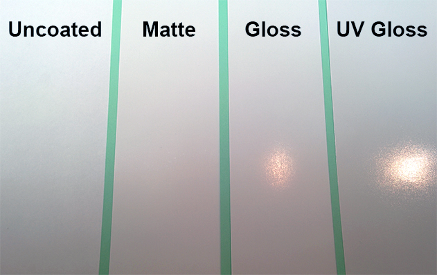 Uncoated Vs Matte Gloss Paper