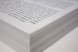 Stack of copy paper