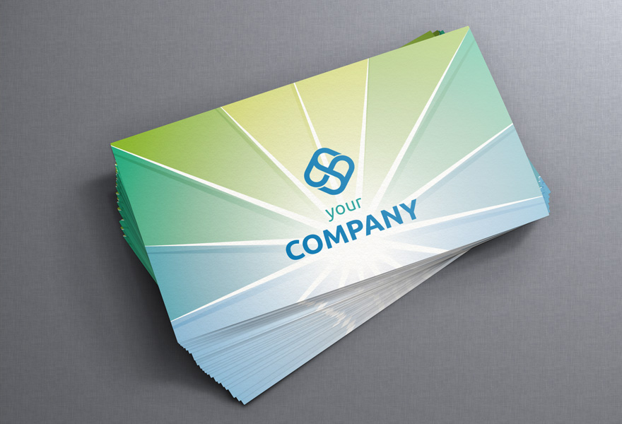 What kind of paper are business cards printed on? - The MGX Copy Blog